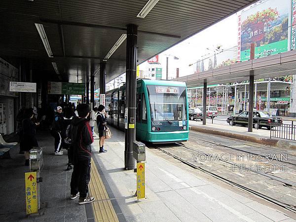 廣島主要大眾運輸:電車