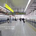 準備搭新幹線離開福岡了