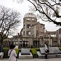 對面就是原爆紀念館