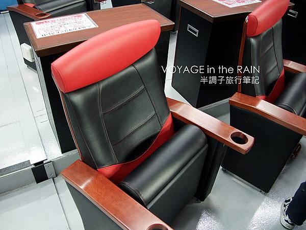 非常舒適的座椅