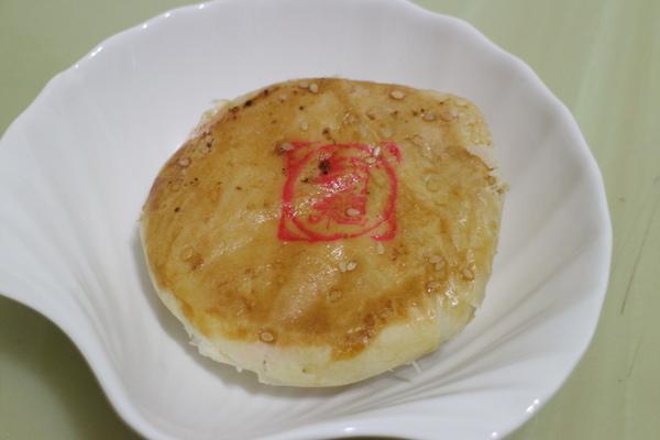 蜜紅豆Q餅:台灣百大名店【朝和餅鋪】蜜紅豆Q餅