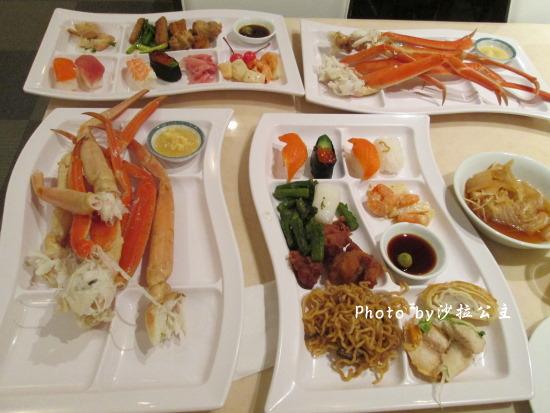 富士之堡華園飯店:富士之堡華園飯店-長腳蟹吃到飽