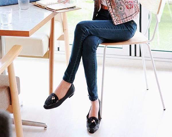 菱格紋平底鞋_MIHO_soo-a6.jpg