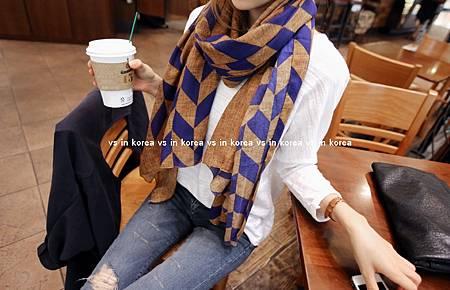 菱格紋絲巾_hellopeco1.jpg