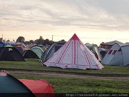 Cool Pink Tent