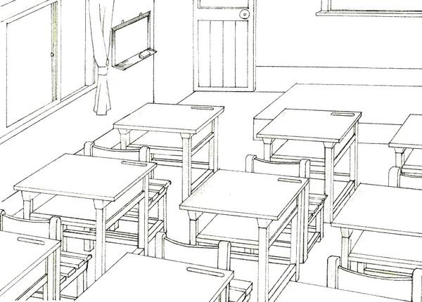 半想像的教室
