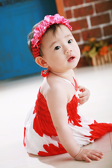南洋風小姑娘