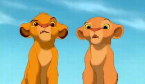 困惑的Simba&Nala.bmp