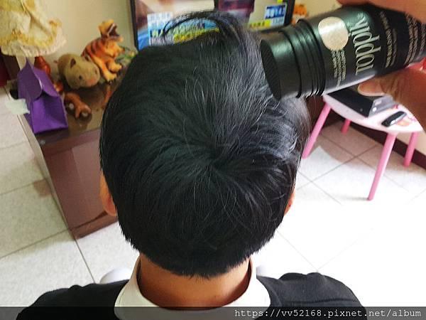 女人知己試用大隊、TOPPIK頂豐增髮纖維、天然角蛋白製成、靜電附著力百分