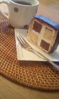 甜品+茶﹐ 晚餐的幸福滋味