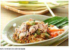 台中越南菜 乾拌沙茶豬肉河粉 招牌米線 雞蛋麵