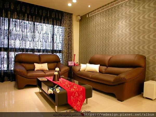 客廳-沙發背牆