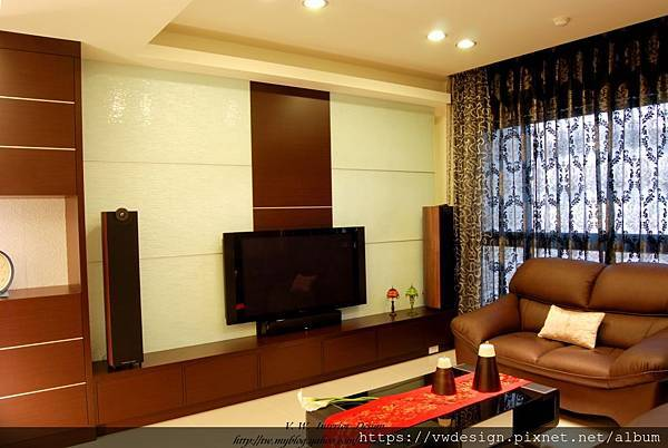 客廳-電視牆1
