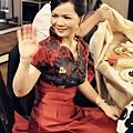 台北新娘秘書Wedding女皇 簡珮瀠-媽媽妝髮也需要給她難忘的一天