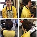 媽媽妝髮範例-短髮媽媽 台北新娘秘書Wedding女皇