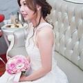 輕柔唯美低盤造型-新娘秘書台北Wedding女皇 簡珮瀠