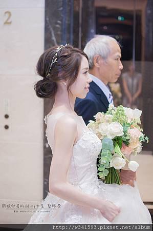 美式清新婚禮造型-新娘秘書台北Wedding女皇 簡珮瀠