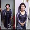 媽媽妝髮範例-華麗短髮 台北新娘秘書Wedding女皇