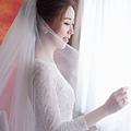 明星款白紗進場造型-Wedding女皇 簡珮瀠