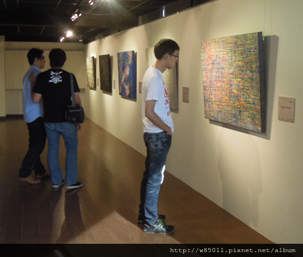 美展073陳鏘旭開幕08