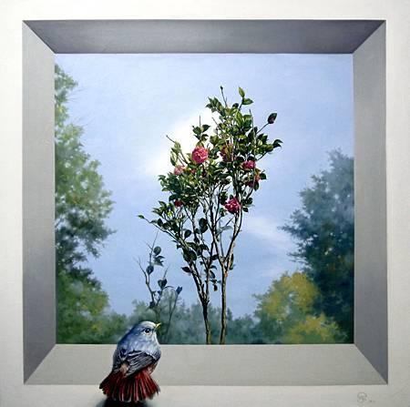 思念的茶花樹-82×82-2013