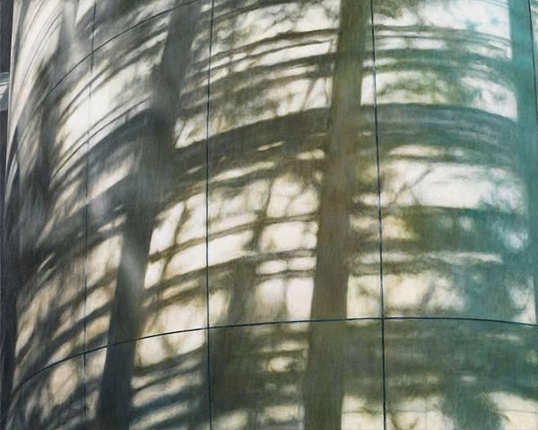 林-美術館2 油彩、畫布 H72 x W91cm 2012