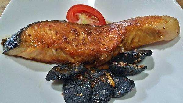 鮭魚蘑菇1