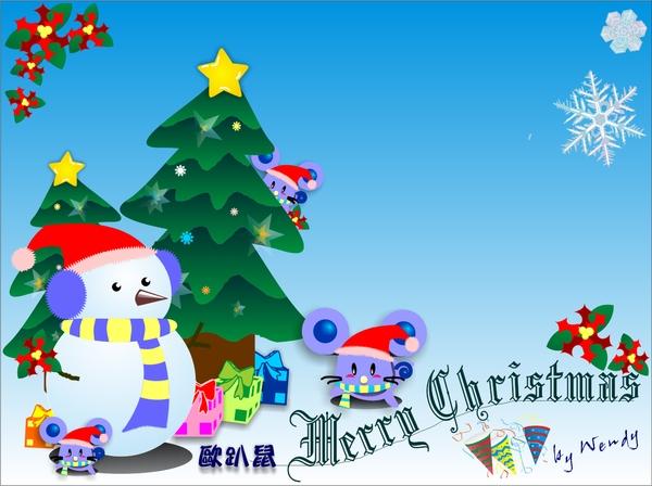 歐趴鼠聖誕版.bmp