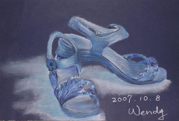 《粉彩》A Still Life in Blue