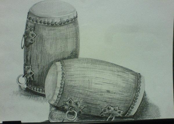 《素描》Still Life Drawing