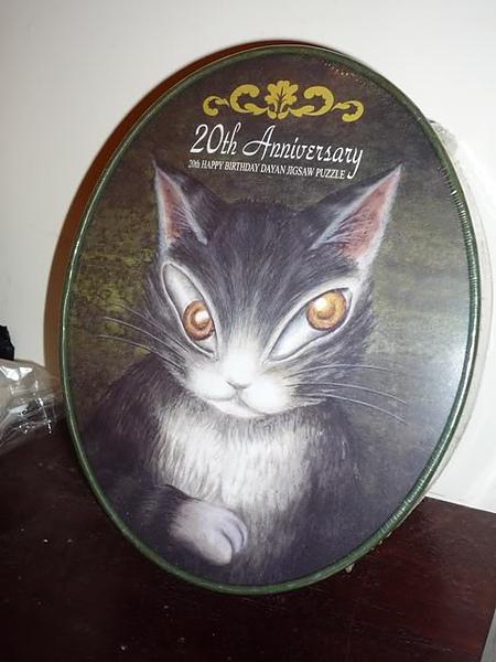 曰本Wachifield Dayan達洋貓 20周年經典砌圖