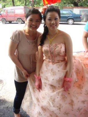 我和雅婷新娘兒