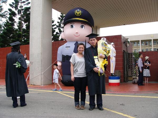 我家老弟畢業啦 2008.06.13