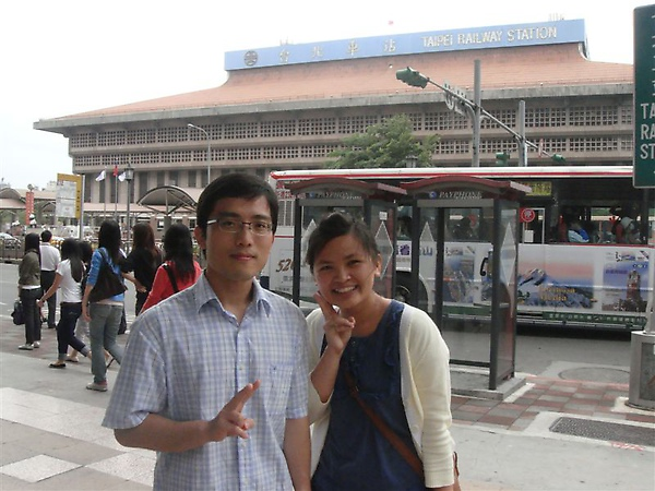 20090528  在台北巧遇國高中同學~~阿順