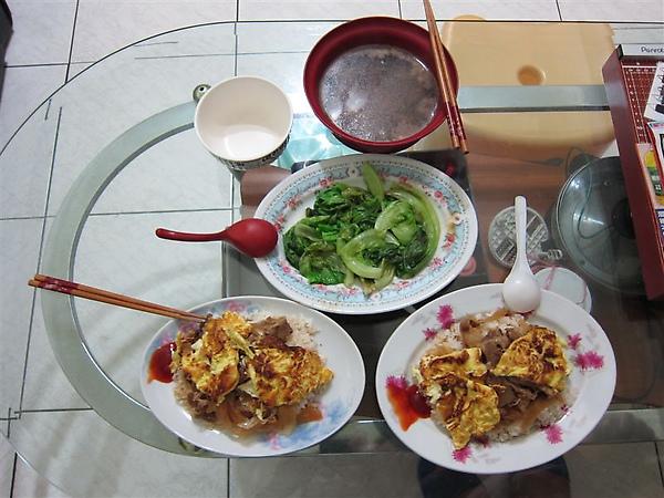 2010.01.28 第一次煮飯