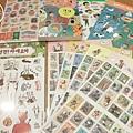 韓國帶回貼紙