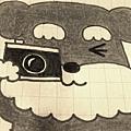 相機書籤繩教學