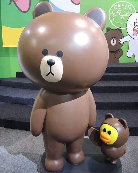 line熊大莎莉小雞