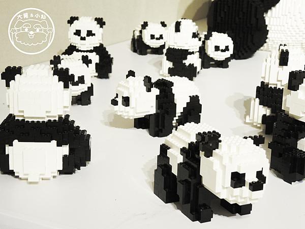 樂高小panda