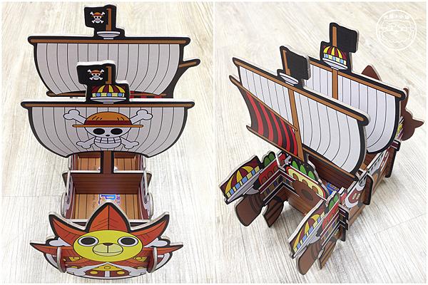 海賊王造型置物架前後
