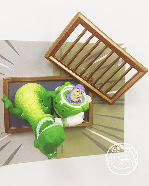 迪士尼pixar磁鐵巴斯光年吸