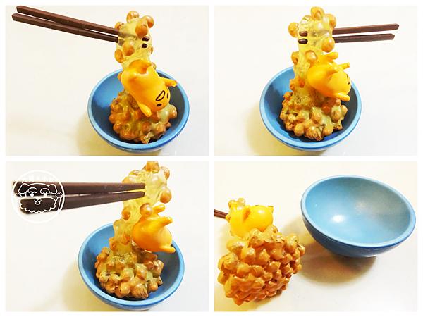 蛋黃哥食玩rement開箱04納豆飯