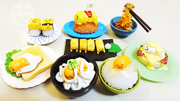 蛋黃哥食玩