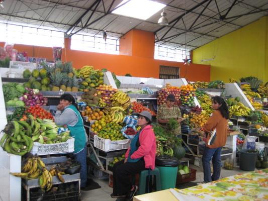 水果區(Central Market, Banos)