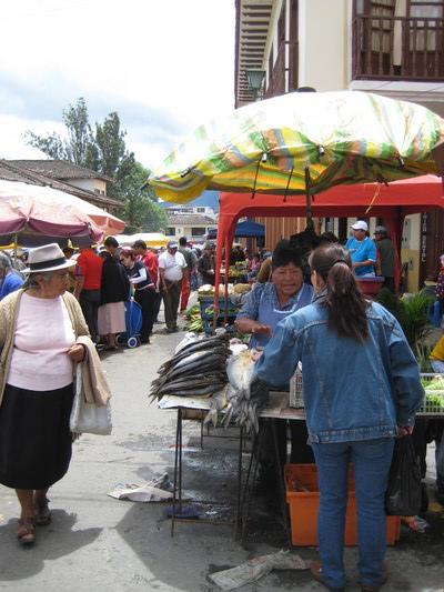 Loja的週日戶外市集