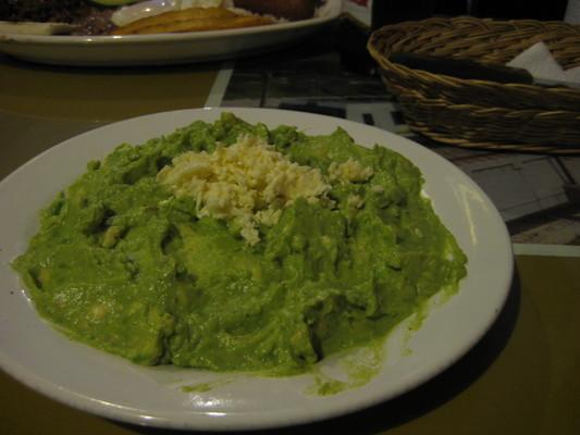 Arepa con Guacamole