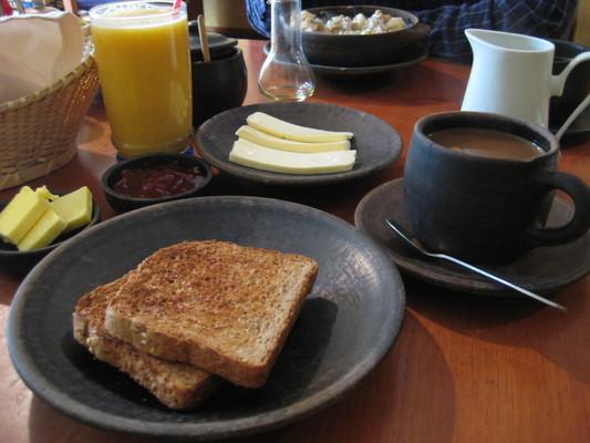 美式早餐(Banana Cafe, Cuenca)