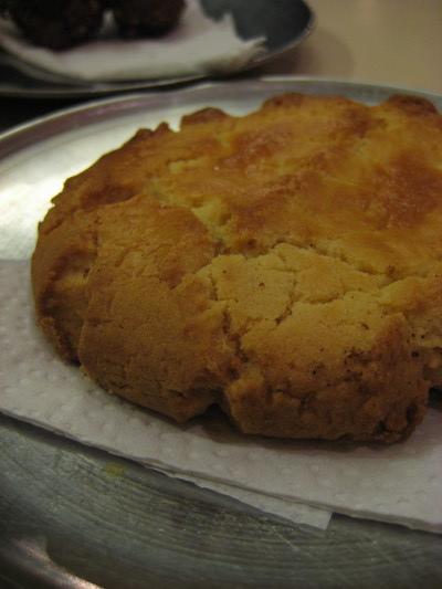 像桃酥的餅乾(Heladeria San Agustin, Quito)