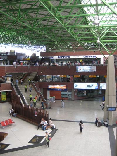 很大的長途巴士站(Terminal del Norte)