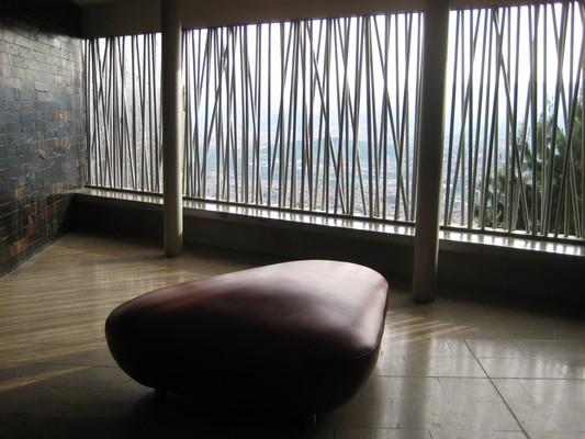 圖書館裡的公共空間,自然通風與採光(Biblioteca Espana)
